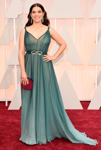 Premios Oscar 2015, alfombra roja, América Ferrera