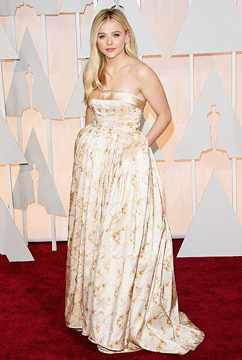 Premios Oscar 2015, alfombra roja, Chloe Grace Moretz