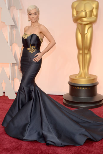 Premios Oscar 2015, alfombra roja, Rita Ora