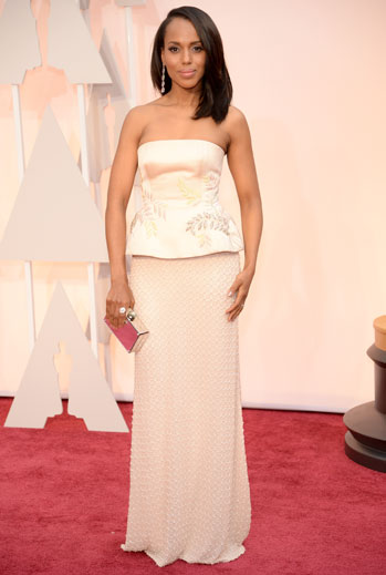Premios Oscar 2015, alfombra roja, Kerry Washington
