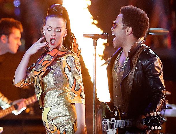 Katy Perry, Lenny Kravitz,