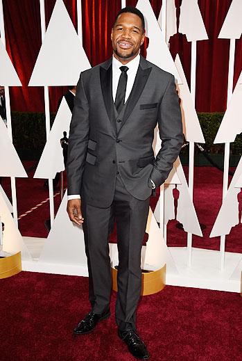 Michael Strahan, Oscars 2015