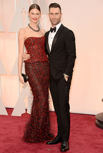 Adam Levine, Oscars 2015