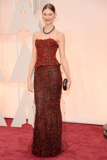 Premios Oscar 2015, alfombra roja, Behati Prinsloo