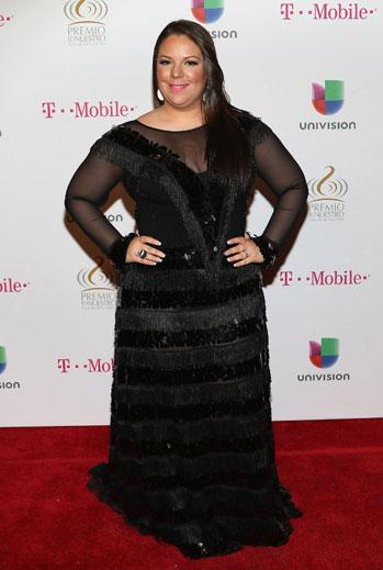 Premio Lo Nuestro 2015, ellas, alfombra, Yazaira Lopez