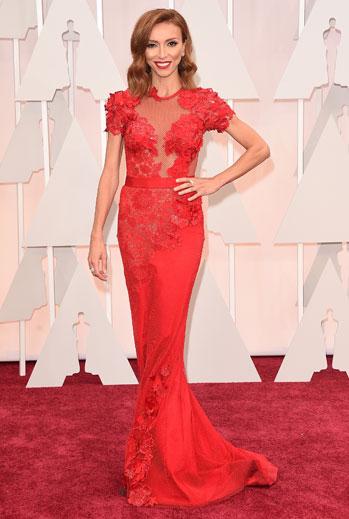 Premios Oscar 2015, alfombra roja, Giuliana Rancic