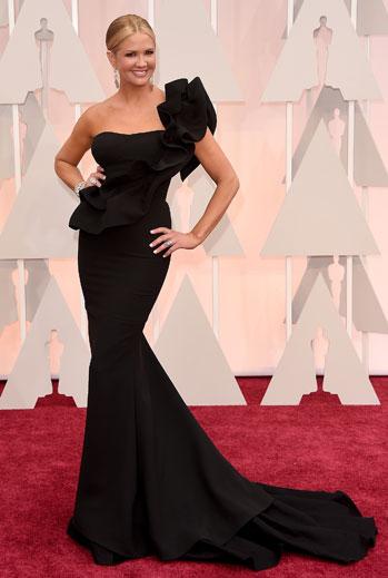 Premios Oscar 2015, alfombra roja, Nancy O'Dell