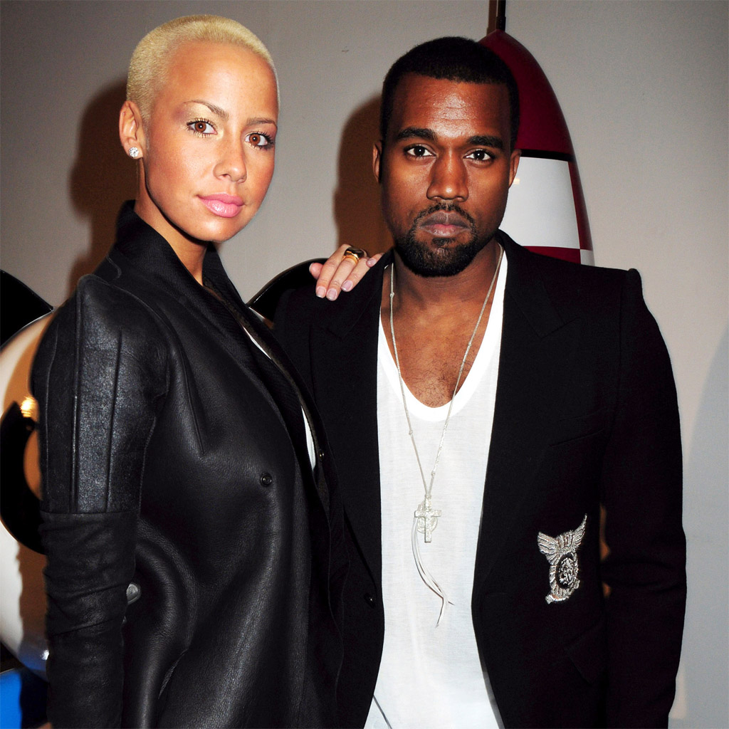 Amber Rose,y Kanye West