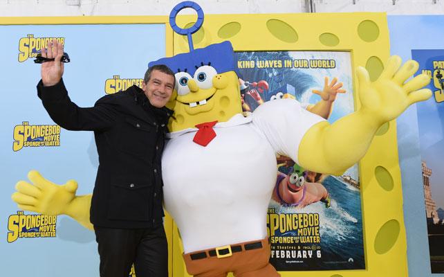 Antonio Banderas para articulo spongebob