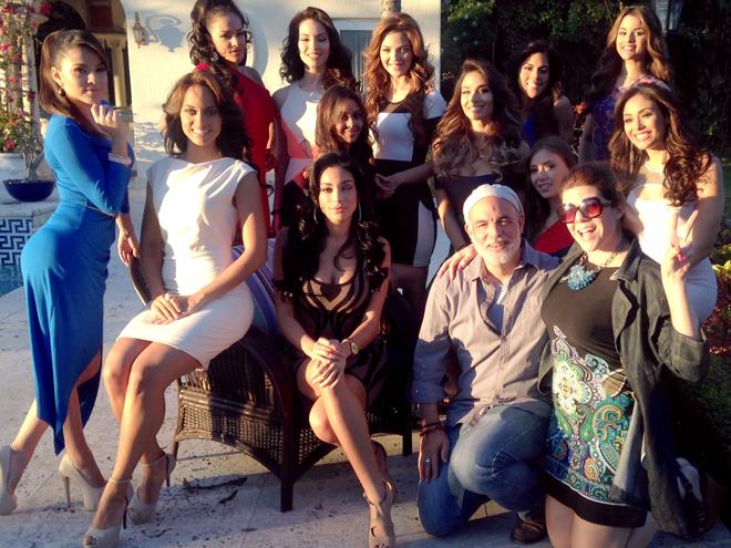Las 12 finalistas en la mansión de Nuestra Belleza Latina