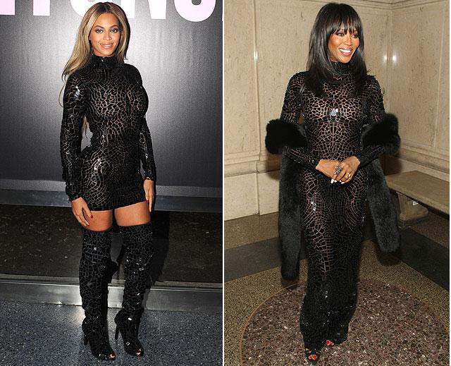 Beyoncé, Naomi Campbell