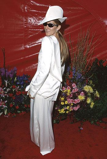 Celine Dion, Desastres de la moda Oscar