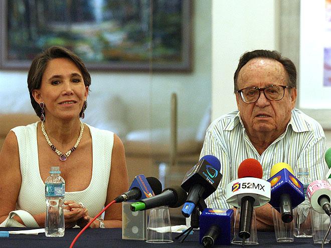 Roberto Gómez Bolaños, Florinda Meza, Chespirito