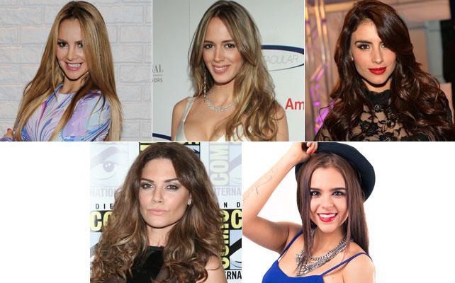 Elige a tu bello, Ximena Córdoba, Shannon de Lima, Jessica Cediel, Angélica Celaya, Yuya