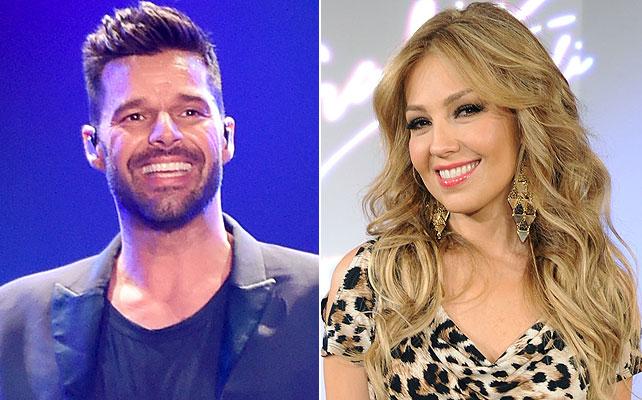 Thalía, Ricky Martin,