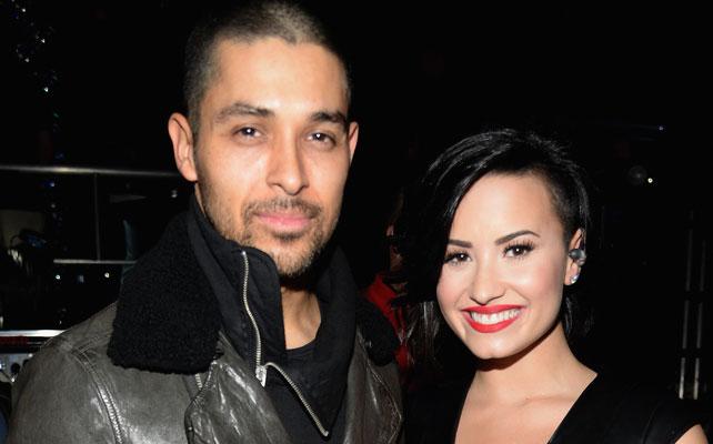 Wilmer Valderrama y Demi Lovato para articulo