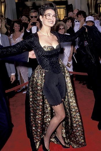 Demi Moore, Horrores del Oscar