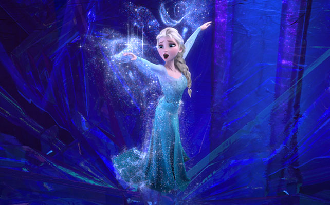 Elsa Disney Frozen para articulo