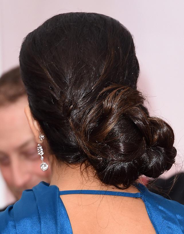 Gina Rodríguez, oscar, peinado, paso a paso, tutorial, estilo