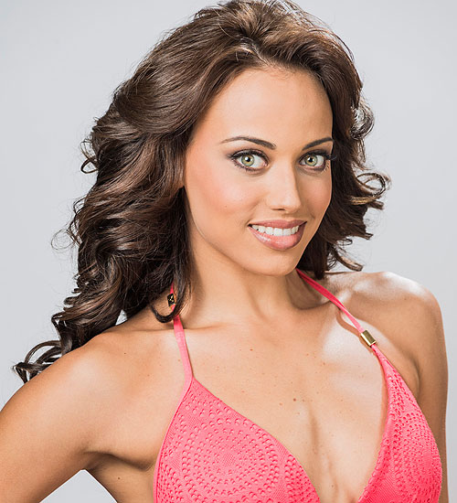 Catherine Castro, Nuestra belleza latina