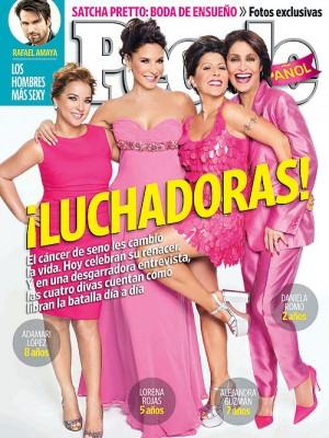 Adamari López, Lorena Rojas, Alejandra Guzmán, Daniela Romo.