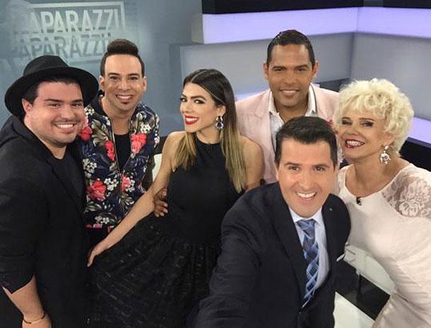 Vlady Gomez, Alex Otaola, Danella Urbay, Carlos Mejía, Charytín Goyco, Óscar Pyzyky, Míralos