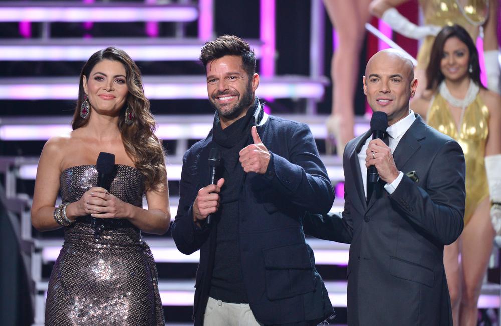 Chiquinquirá Delgado, Ricky Martin y Javier Poza