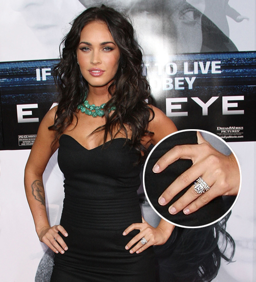 Megan Fox, anillo compromise
