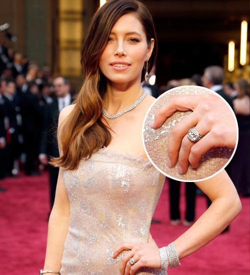 Jessica Biel, anillo compromise