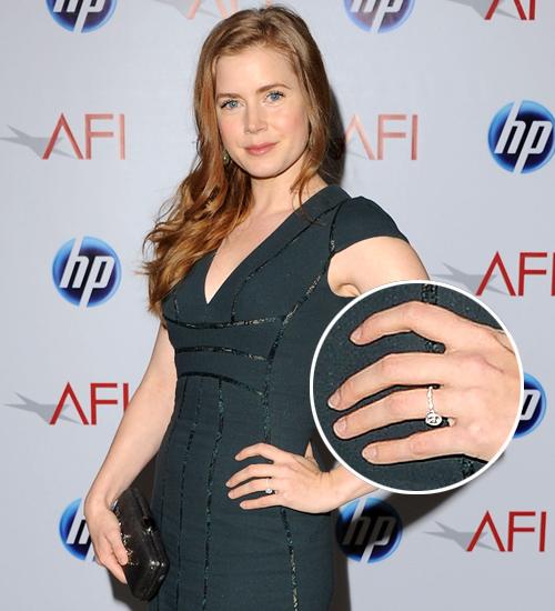 Amy Adams, anillos compromiso