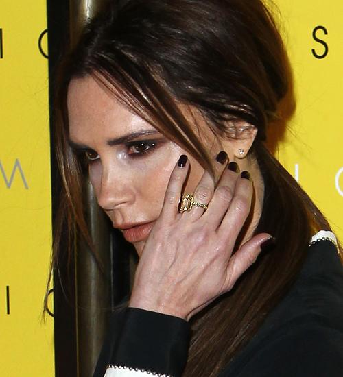 Victoria Beckham, anillos compromiso