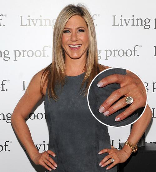 Jennifer Aniston, anillo compromiso