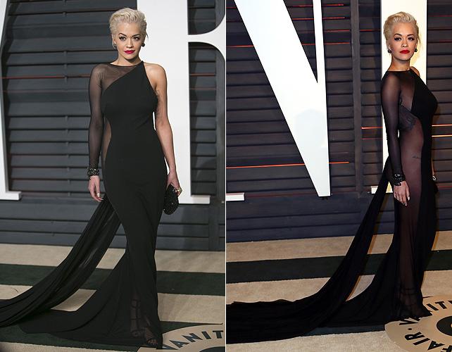 Rita Ora, oscar, ropa interior
