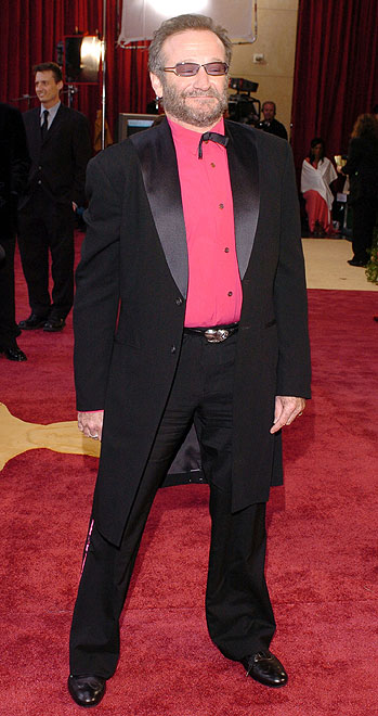 Robin Williams, Desastres en la alfombra
