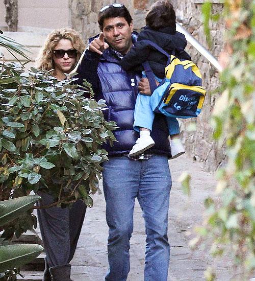 Shakira, Tonino Mebarak, Milan Piqué