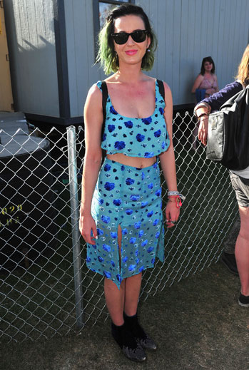 Looks de festival, musica, 2015, Katy Perry