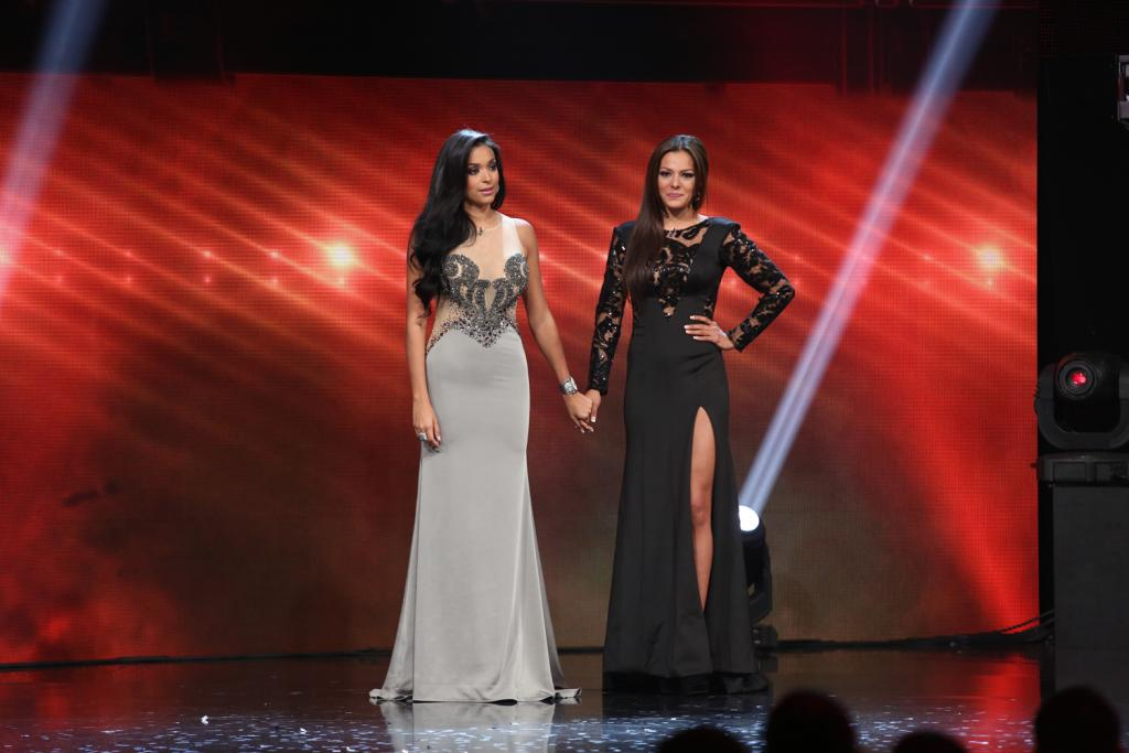 Geisha Montes De Oca y Nathalia Casco