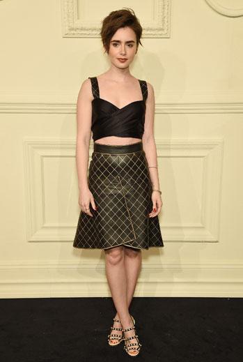 El look del día, Lily Collins