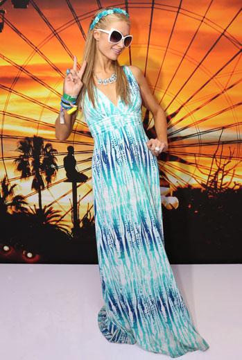 Looks de festival, musica, 2015, Paris Hilton