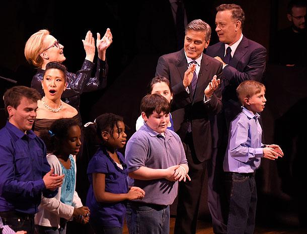 Meryl Streep, George Clooney, Tom Hanks, Míralos