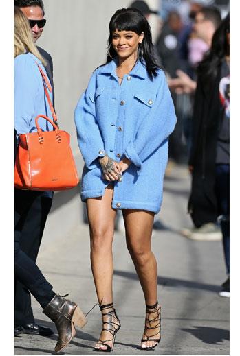 El look del día, Rihanna