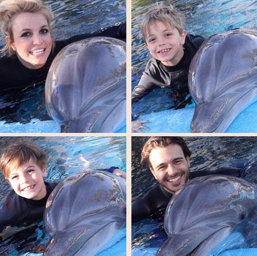 Bebés famosos, Britney Spears