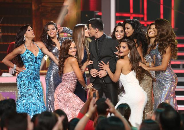 Luis Coronel en Nuestra Belleza Latina