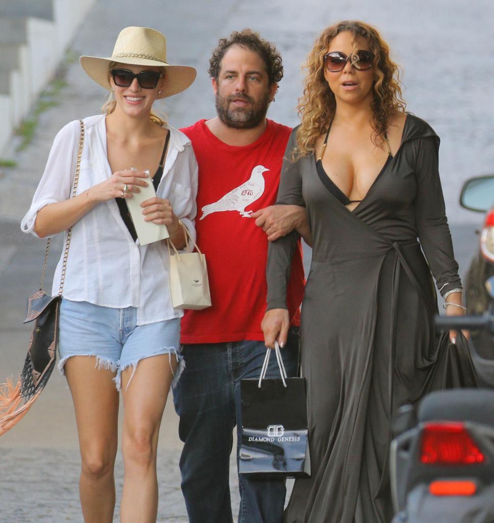 Mariah Carey y Brett Ratner