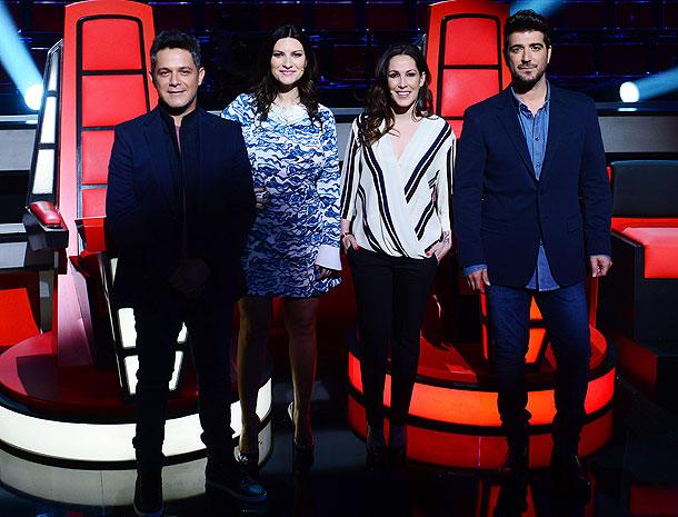 Alejandro Sanz, Laura Pausini, Malú, Antonio Orozco, Míralos