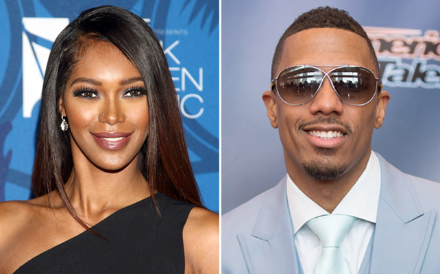Jessica White y Nick Cannon