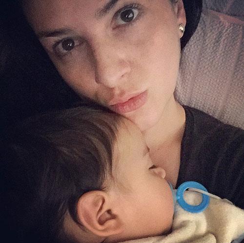 Bebés famosos, Lidia Ávila