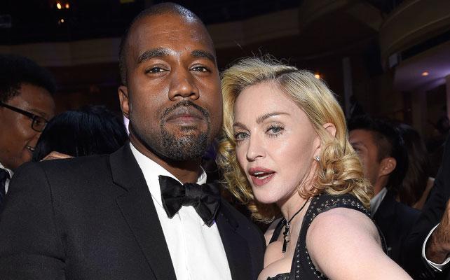 Kanye West y Madonna para articulo