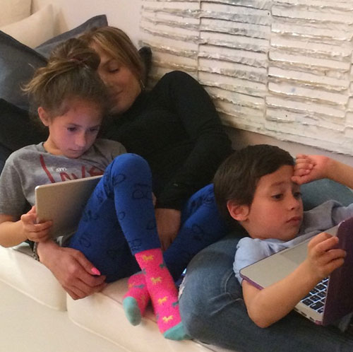 Bebés famosos, Jennifer López