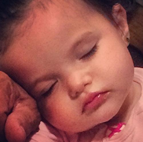 Bebés famosos, Lorena Rojas, Mayra Rojas
